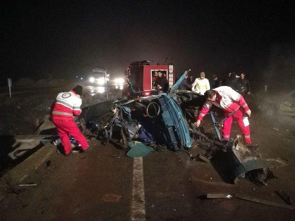 ۳ نفر در تصادف جاده مرند – خوی کشته شدند