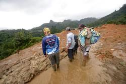 انڈونیشیا میں سیلاب اور لینڈ سلائیڈنگ سے ہلاکتوں کی تعداد 59 ہوگئی