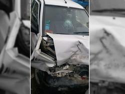 تصادف سرویس مدرسه ۴ دانشآموز را راهی بیمارستان کرد