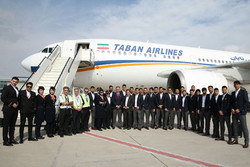National Iranian football team arrives in UAE to attend AFC Asian Cup