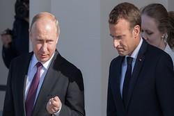 گفتگوی تلفنی پوتین و ماکرون درباره سوریه و اوکراین