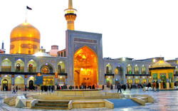 A view of holy shrine of Imam Reza (AS) in Mashhad