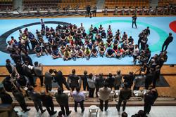 Sports minister visits national wrestling teams