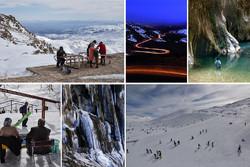 لذت گردشگری در یخ و برف/ به بزرگترین آبشار چشمهای جهان سفر کنید