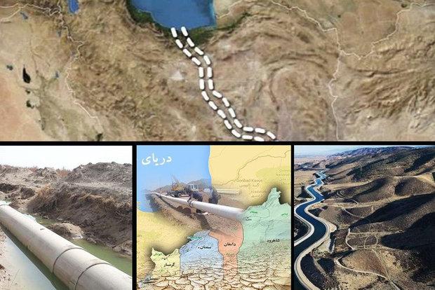 شوری ۴ برابری آب دریای خزر با طرح انتقال