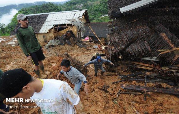 شمار قربانیان رانشزمین در جاوه اندونزی به ۳۱ نفر رسید