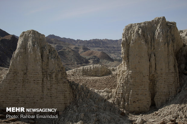 Historical castle of Gowharan