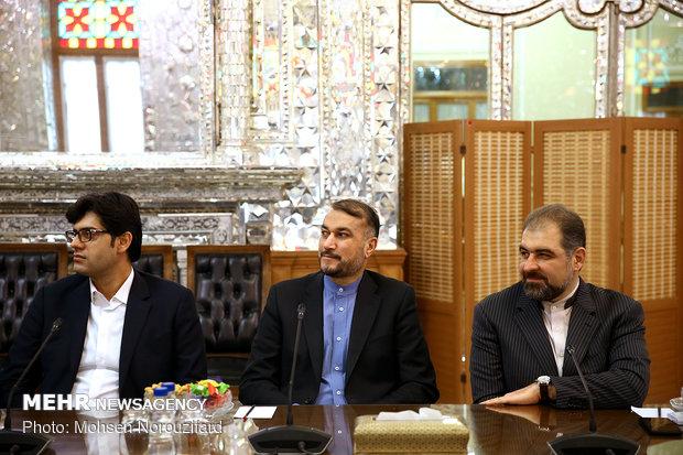PIJ Sec. Gen. meets with Iranian Parl. Speaker