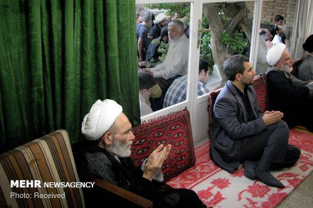 تصاویری دیده نشده از آیتالله مجتبی تهرانی