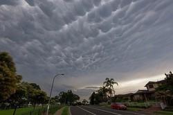 ظهور ابرهای عجیب در آسمان سیدنی