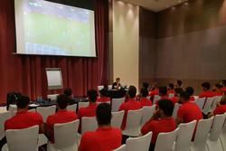 کلاس آموزشی شبانه AFC برای تیم ملی فوتبال ایران