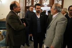 وزرای کار و ارتباطات وارد مشهد شدند