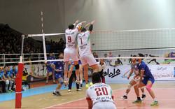 دیدار تیم های والیبال فولاد سیرجان ایرانیان و پیکان