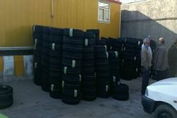 ۲۵۰۰ حلقه لاستیک بین رانندگان ناوگان تاکسیرانی بجنورد توزیع شد