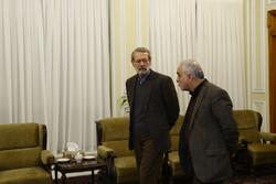 دیدار های رئیس مجلس شورای اسلامی