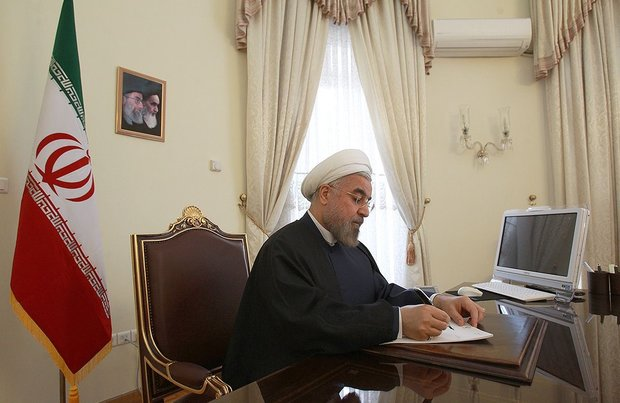 President Rouhani rejects FM Zarif's resignation