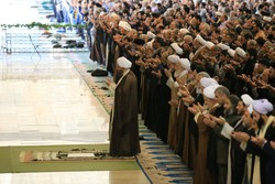 Haj Ali Akbari leads Friday Prayers in Tehran