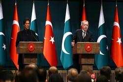 Erdoğan ile Pakistan Başbakanı Han bir araya geldi