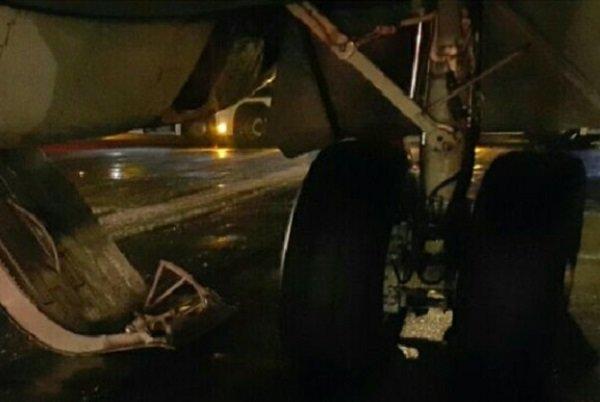 هواپیمای مشهد به تبریز دچار حادثه شد