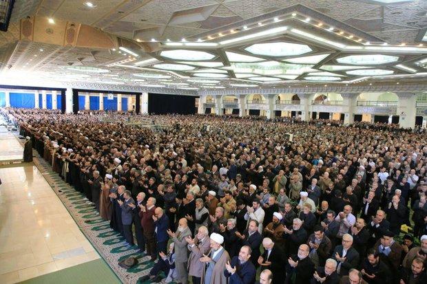 Haj Ali Akbari leads Friday Prayers in Tehran