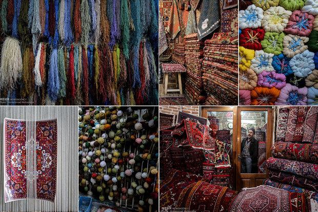 پایتخت فرش دستباف در کما/مشکلاتی که به زندگی قالیبافان گره خورد