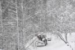 ایران کے مشرقی علاقوں میں برف باری جاری