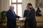 Venezuela's new amb. submits credentials to FM Zarif