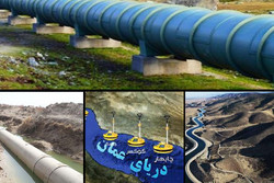 مایه حیات در رگهای شرق کشور/ «عمان» ۳ استان را سیراب میکند