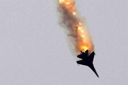 امریکی فضائیہ کا ایک ایف16 لڑاکا طیارہ گر کر تباہ