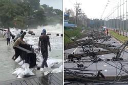 طوفان «پابو» در تایلند ۵ کشته و ۳۰ هزار آواره درپی داشت