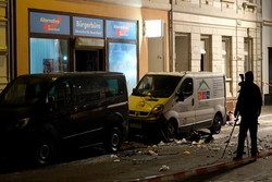 ۳ مظنون انفجار مقابل دفتر یکی از احزاب در آلمان بازداشت شدند