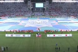 مراسم افتتاحیه جام هفدهم برگزار شد/ دو ایرانی مهمان ویژه اماراتیها