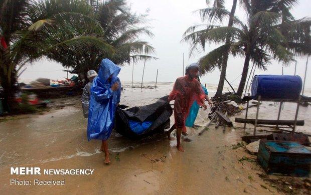 طوفان پابوک در تایلند