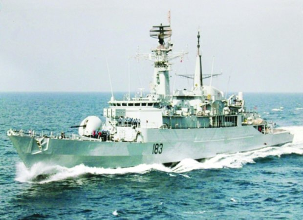 Pakistan navy flotilla to dock at Iran's Bandar Abbas
