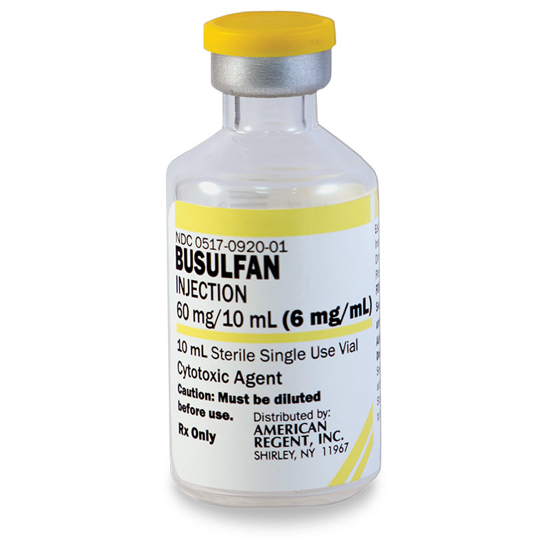 Busulfan is allergic