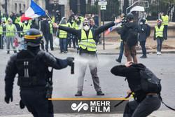 """""""نه"""" فرانسویها به ماکرون و نظام سرمایهداری"""
