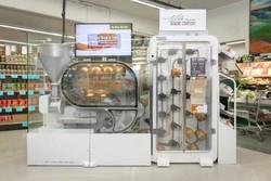 تصاویری از ربات نانوا/ پخت ۲۳۵ نان در یک روز