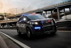 اتومبیل هیبریدی برای پلیس رونمایی شد