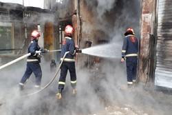 انفجار و آتش سوزی کارگاه غیرمجاز شارژ کپسول گاز مایع در همدان