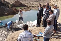 چهار طرح آبخیزداری در دشتی افتتاح می شود