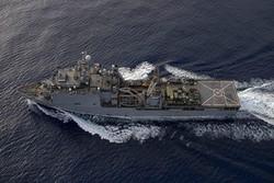 ورود کشتی نیروی دریایی آمریکا به دریای سیاه
