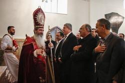 مراسم میلاد حضرت مسیح (ع) در کلیسای مریم مقدس تبریز