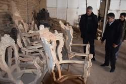 بازدید معاون استاندارآذربایجان شرقی از واحدهای تولیدی مرند