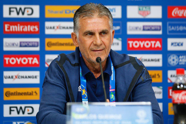 Iran football federation seems blind to some rules