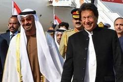 متحدہ عرب امارات کے ولیعہد کی عمران خان سے ملاقات