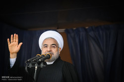 روحاني يتفقد المناطق المنكوبة جراء السيل في محافظة كلستان