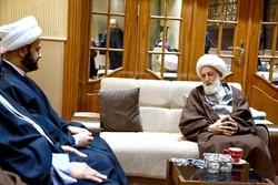 Iraklı yetkili Şeyh İsa Kasım ile görüştü