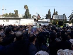 آیین تشییع شهید مدافع حرم در بابلسر برگزار شد