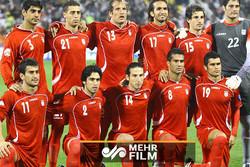 İran Milli Futbol Takımı'nın ilk tur maçlarından görüntüler