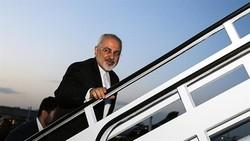 Zarif leaves Tehran for New Delhi